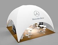 Mercedes - Benz Event  3D Design