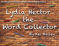 Poster Design for Heckington Players Youth Theatre 6/17
