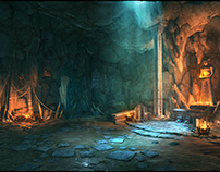 Iron Blade - Dungeon Entrance - 3D Environment