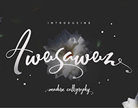 Awesawez Modern Calligraphy
