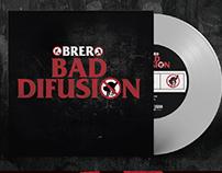 "Obrero | Bad Difusion | Tributo a Bad Religion 7"" Vinyl"