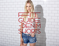 AMERICANINO / Fit Guide Denim Short 16