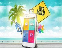 KIA - Yola Mola Mobile Application Website UX