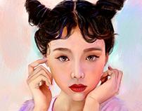 Portrait study (with Process)
