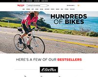 Sport Chalet - Bike Landing Page