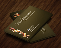 Week Makeovers Business Card Design