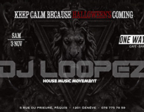 Flyer DjLoopez