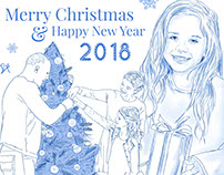 Merry Christmas & New Year 2018 Greetings