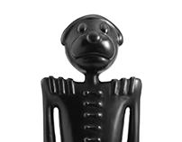 Black Dog Sculpture 5 Bonaparte