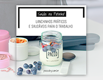 Pacco - Site e-commerce e Social Media