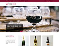 Free Wine Brewery WordPress Themes