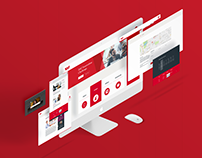Westpac Innovation Website User Interface Design