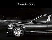 Mercedes-Maybach S 600 Pullman - Editorial Design