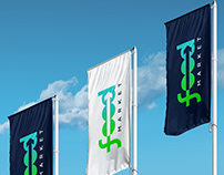 Food market. Branding. Logo