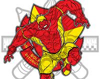 mascot design for malaysian football team