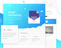 Email Newsletter Free PSD Template