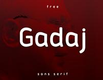 Gadaj - free font