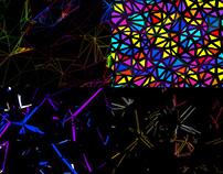 Colorful Plexus - VJ Loop Pack (5in1)