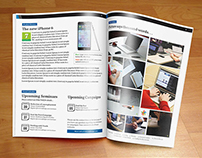 Corporate Newsletter Indesign Template