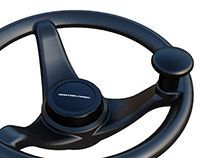 Steering wheel for Rostselmash