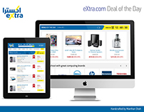 eXtra.com - Redesign Concept of Deal of the day