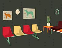 Waiting Room illustration