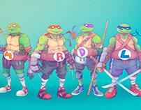 TMNT - Teenage Mutant Ninja Turtle - Concept/Redesign