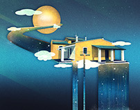 Castle in Heaven | Digital Art