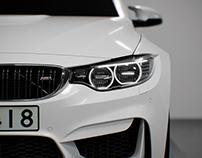 BMW M4. CGI.