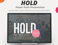 Hold Power Point Presentation Template
