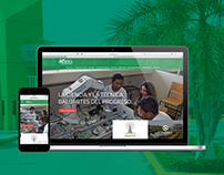 Universidad Tecnológica de Campeche - Website Redesign