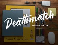 Deathmatch Lettering