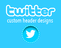 Twitter Custom Header Graphics