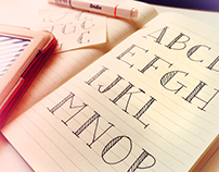 Blaze & Radley Display Typeface