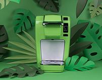 Keurig Recyclability - Campagne web