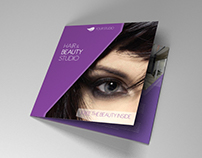 Indesign brochure Hair & Makeup