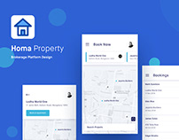 Homa properties - Brokerage Platform Design