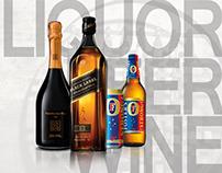 Beverage web design