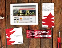 ABBC Website & Xmas Card Design