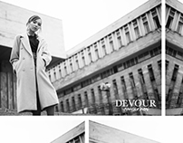 DEVOUR Almaty fashion campaign