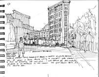 Travel Sketchbook: Portland, Oregon