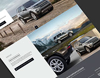 Land Rover: Microsite & campaign