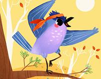 Karateka bird