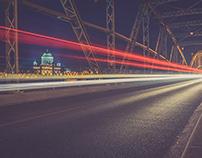 Esztergom Bridge nightshots