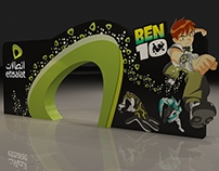 Etisalat Is The Main Sponsor Of Ben 10