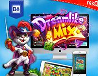 Nika entertainment,game Ui,characters art, team design