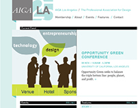 AIGA LA Website