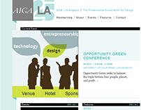 AIGA LA Website