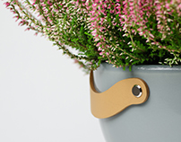 "Flower pot ""ORCA"""
