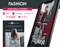 2 FREE ANIMATED FASHION INSTAGRAM STORIES IN PSD